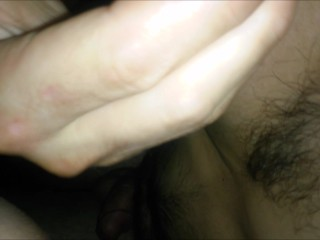 He woke me up with dick, fucked my throat with my head hanging over the bed