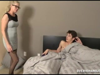 Naked Guy In The Room Makes Milfs Pussy Wet