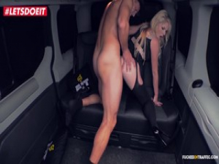 Hot Czech Babe Fucks the Driver to Return her Luggage