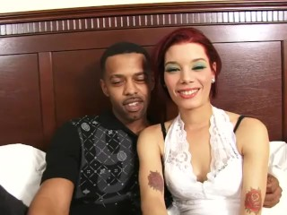 Petite Ebony Get Pussy Strike Hard by Her BF's Monster BBC
