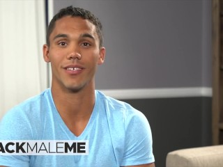 Blackmaleme – Bisexual Student Murray, Strips For Your Eyes And Jerks Off