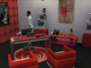 XXX4SIMS Just another day at the office