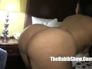 phat booty snicka gets banged out by  bbc king gudda  jimmyd stretch