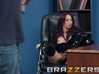 Brazzers – Monique Alexander wants her boots shined and her ass fucked