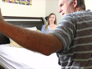 Complete behind the scenes Alex Blake getting face wrecked by Alex Legend