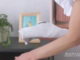 Horny Housekeeper's Clean Pussy