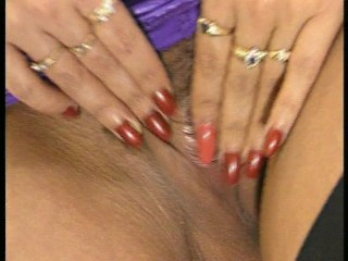 Office pussy play