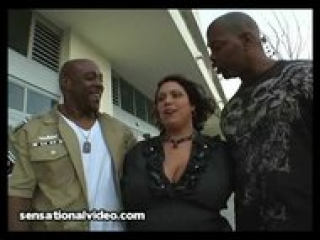 """""""Latina Wife Gets DPed By Two Big Black Cocks"""""""