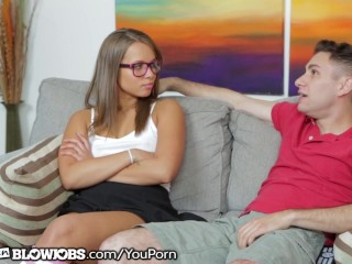 OnlyTeenBlowjobs Teen With Braces First Blowjob