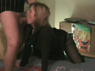 Real amateur french doggy couple rec she looks to camera p1