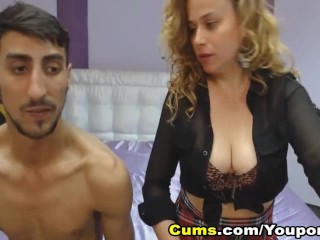 Crazy Couple Loves Banging on Cam
