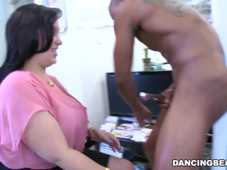 DANCING BEAR – 30th Birthday Office Party With Big Dick Male Strippers!