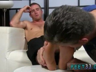 Big dick xxx gay sex watch Scott Has A New Foot Slave