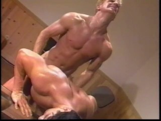 Two studs fuck in an office – Dack Videos