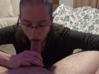 Cheating wife gags on brother in law s cock