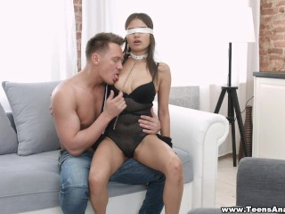 Teens Analyzed – Blindfolded sex and first anal