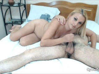 Husband Fucking his Wife and she Deliver Blowjob