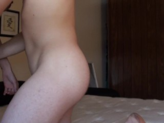 Quick 69 Close-Up Dick Sucking While The Sheets Are In The Wash! HD Blowing