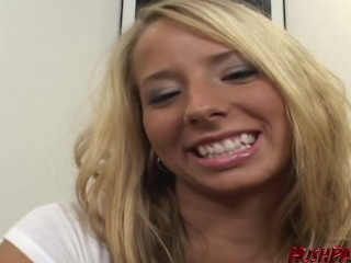Ashley wants to be a porn star! Freaky First Timer!
