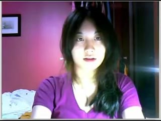 Asian chica on webcam