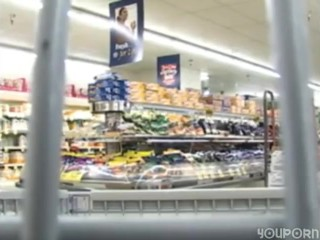 Flashing in the SuperMarket/And Sucking Cock