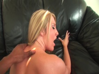 Blonde is sucking cock and pushing cum out her sweet pussy