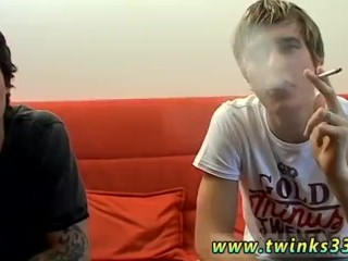 Young blond boy with blue eyes nude movies gay Jerry & Clark Smoke Suck