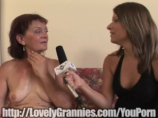 Granny doesnt suspect shes getting a dick