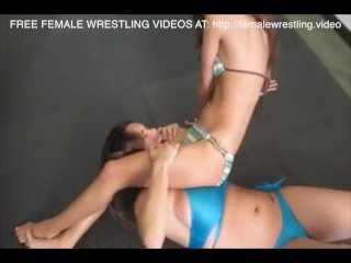 Teen just wants to catfight whit her vagina
