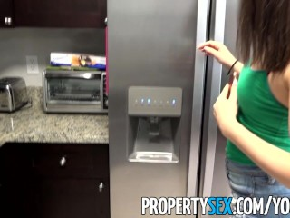 PropertySex – Hot young home buyer cheats with her real estate agent