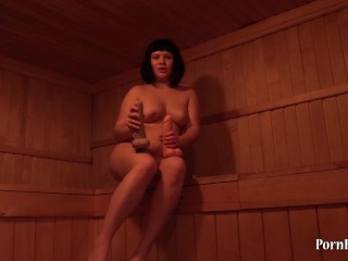 anal young girl in the sauna