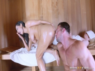 Isis Love anal creampie