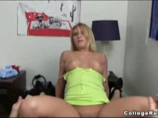 Horny college girls have fun with toys