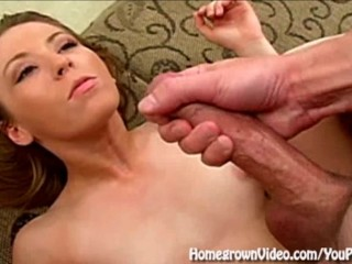 Amateur Takes Massive Facial From Big Dick