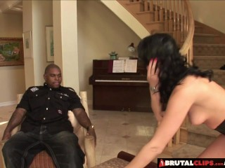 BrutalClips – Sadie begs for a big black cock