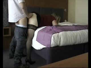 Hotel room fuck by a total stranger