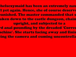 RachelSexyMaid – No. 12 – Dungeon Punishment Standing – Facing and Rear
