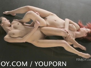 Simona and Arial are nude perfection