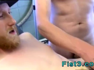 Gay man fist boys First Time Saline Injection for Caleb