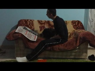 real couch sex-tape homemade part 1