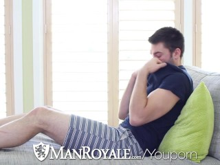 ManRoyale – Abel Archer Caught Jerking to Porn by Derek Sky