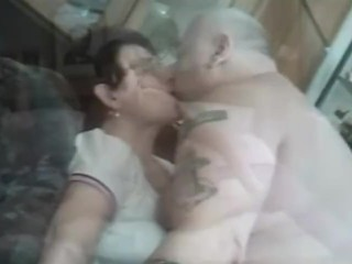 fat old mature couple