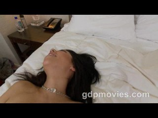 Holly gets a messy load of cum in her face
