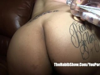 phatt ass plays with her toys lady queen