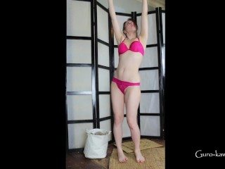 LN´s#26-My hot little submissive MILF, rope bondage fun, hard anal quickie