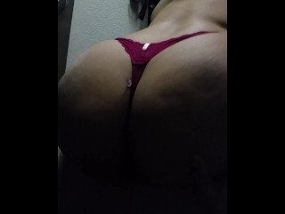 my thick ass bitch shaking that ass for me before I hit it