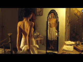 Emily Browning – Nude, Perky Boobs + Bush – Summer In February (2013)