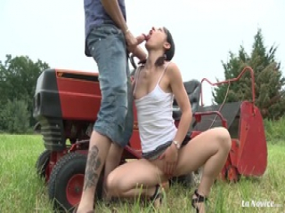 LA NOVICE – French newbie gets banged and facialized