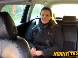 Hornytaxi first time anal virgin takes on huge thick cock