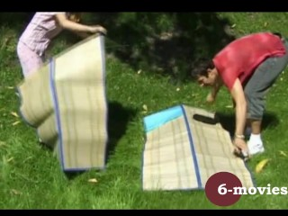 6-movies.com – Young german couple having great outdoor sex –